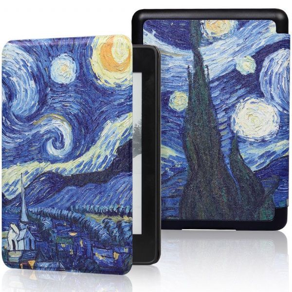 Kindle Paperwhite Art Case Starry Night
